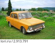Купить «Москвич-412», фото № 2913791, снято 11 июня 2006 г. (c) Art Konovalov / Фотобанк Лори