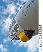 Купить «Носовая часть фюзеляжа самолета-разведчика Ан-30 на фоне неба», фото № 2913991, снято 18 сентября 2011 г. (c) Владимир Сергеев / Фотобанк Лори