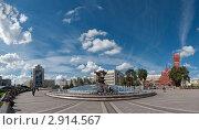 Беларусь. Минск. Площадь Независимости (2011 год). Редакционное фото, фотограф Виктор Пелих / Фотобанк Лори