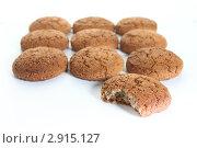Купить «Овсяное печенье», фото № 2915127, снято 17 сентября 2011 г. (c) Morgenstjerne / Фотобанк Лори