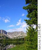 В горах. Стоковое фото, фотограф Ворошилова Анна / Фотобанк Лори