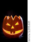 Купить «Тыква на Хэллоуин», фото № 2915631, снято 29 октября 2011 г. (c) Ольга Денисова / Фотобанк Лори