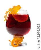 Освежающие фруктовые коктейли. Изолировано на белом. Стоковое фото, фотограф Александр Fanfo / Фотобанк Лори