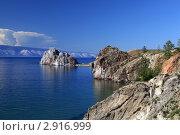 Купить «Байкал, остров Ольхон, мыс Бурхан», фото № 2916999, снято 12 августа 2011 г. (c) Сергей Белов / Фотобанк Лори