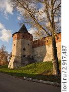 Купить «Зарайский кремль», фото № 2917487, снято 22 октября 2011 г. (c) Александр Бербасов / Фотобанк Лори