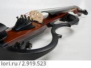Электронная скрипка. Стоковое фото, фотограф Александр Кадацкий / Фотобанк Лори