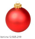 Купить «Новогоднее украшение», фото № 2925219, снято 2 декабря 2008 г. (c) Дмитрий Наумов / Фотобанк Лори