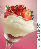 Купить «Лимонный десерт с ягодами», фото № 2929067, снято 1 августа 2006 г. (c) Monkey Business Images / Фотобанк Лори