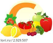 Купить «Содержание витамина С в продуктах», иллюстрация № 2929507 (c) ivolodina / Фотобанк Лори
