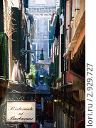 Улочка в Венеции (2011 год). Стоковое фото, фотограф igor faustov / Фотобанк Лори