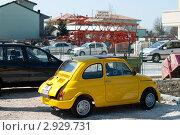 Желтый автомобиль (2011 год). Редакционное фото, фотограф igor faustov / Фотобанк Лори