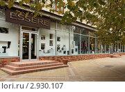 Купить «Витрина модного  магазина, г. Краснодар», фото № 2930107, снято 31 октября 2011 г. (c) Юлия Ухина / Фотобанк Лори