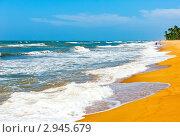 Океан. Шри Ланка (2010 год). Стоковое фото, фотограф E. O. / Фотобанк Лори