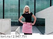 Портрет эффектной молодой женщины. Стоковое фото, фотограф Dmitri Maruta / Фотобанк Лори
