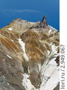 Камчатка. Вершина Корякского вулкана (Корякская сопка), фото № 2949067, снято 11 августа 2011 г. (c) А. А. Пирагис / Фотобанк Лори