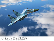 Купить «Истребитель», фото № 2953287, снято 19 августа 2011 г. (c) Игорь Долгов / Фотобанк Лори