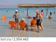 Мертвое море (2011 год). Редакционное фото, фотограф Валерий Семикин / Фотобанк Лори