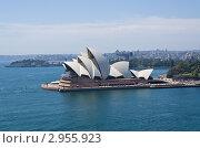 Купить «Оперный театр в Сиднее», эксклюзивное фото № 2955923, снято 12 декабря 2017 г. (c) Аркадий Захаров / Фотобанк Лори