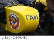 Купить «Мотоциклетная коляска», эксклюзивное фото № 2956495, снято 28 октября 2011 г. (c) Free Wind / Фотобанк Лори