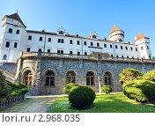 Купить «Замок Конопиште в Чехии, около города Бенешов», фото № 2968035, снято 30 мая 2011 г. (c) Юрий Брыкайло / Фотобанк Лори