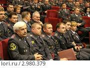 Купить «Полицейское совещание», эксклюзивное фото № 2980379, снято 28 октября 2011 г. (c) Free Wind / Фотобанк Лори