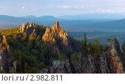Купить «В горах Урала», фото № 2982811, снято 7 сентября 2011 г. (c) Рамиль Юсупов / Фотобанк Лори