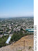 Вид города с горы, Ош, Киргизия (2011 год). Стоковое фото, фотограф Dmitry Lameko / Фотобанк Лори