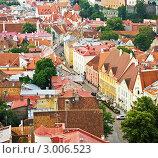 Купить «Вид с высоты на Старый город Таллина», фото № 3006523, снято 31 июля 2011 г. (c) Вероника Галкина / Фотобанк Лори