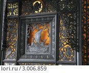 Купить «Фрагмент Каслинского чугунного павильона в музее изобразительных искусств, г.Екатеринбург», фото № 3006859, снято 19 августа 2011 г. (c) BoLinar / Фотобанк Лори