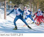 Купить «Чемпионат России по лыжным гонкам среди мужчин», фото № 3011211, снято 12 апреля 2009 г. (c) Кузнецов Дмитрий / Фотобанк Лори