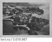 Купить «Замок Шверин (Schwerin Schloss) 1868 год», иллюстрация № 3019987 (c) Александр Денисов / Фотобанк Лори