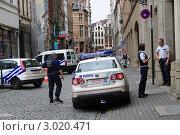 Купить «Полиция Боюсселя», эксклюзивное фото № 3020471, снято 23 июля 2011 г. (c) Илюхина Наталья / Фотобанк Лори