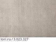 Фон из серого льняного полотна. Крупный план. Стоковое фото, фотограф Dzianis Miraniuk / Фотобанк Лори