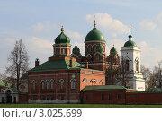 Купить «Бородино. Спасо-Бородинский женский монастырь», эксклюзивное фото № 3025699, снято 7 мая 2011 г. (c) ДеН / Фотобанк Лори