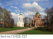 Купить «Бородино. Спасо-Бородинский женский монастырь», эксклюзивное фото № 3025727, снято 7 мая 2011 г. (c) ДеН / Фотобанк Лори