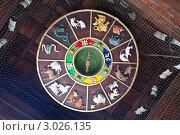 Двенадцать символов года по восточному гороскопу. Стоковое фото, фотограф Артем Мишуков / Фотобанк Лори