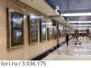 """Купить «Галерея """"Метро"""" на станции """"Выставочная"""" в Москве», фото № 3036175, снято 11 декабря 2011 г. (c) Денис Ларкин / Фотобанк Лори"""