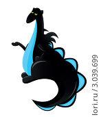 Купить «Дракон», иллюстрация № 3039699 (c) Ирина Кротова / Фотобанк Лори