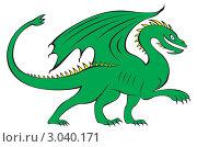 Купить «Дракон», иллюстрация № 3040171 (c) Дарья Тарасова / Фотобанк Лори