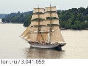 Парусное судно. Стоковое фото, фотограф Сергей Разживин / Фотобанк Лори
