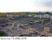 Купить «Хабаровск. Привокзальная площадь», фото № 3046419, снято 16 мая 2010 г. (c) Наталья Чуб / Фотобанк Лори