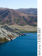 Озеро в горах. Стоковое фото, фотограф Александр Морозов / Фотобанк Лори