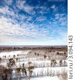 Весеннее небо. Стоковое фото, фотограф Владимир Мельников / Фотобанк Лори