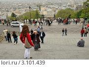 Купить «В Париже. Монмартр», эксклюзивное фото № 3101439, снято 10 мая 2010 г. (c) Александр Алексеев / Фотобанк Лори