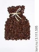 Зерна обжаренного кофе. Стоковое фото, фотограф Андрей Гугин / Фотобанк Лори