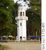 Купить «Смотровая башня в Агудзере. Абхазия.», эксклюзивное фото № 3115491, снято 9 августа 2006 г. (c) Евгений Ткачёв / Фотобанк Лори