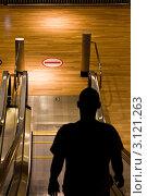 Купить «Эскалатор», фото № 3121263, снято 11 декабря 2010 г. (c) Денис Карелин / Фотобанк Лори