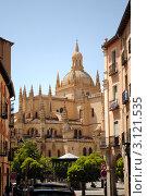 Кафедральный собор Святой Марии в Сеговии, Испания. Стоковое фото, фотограф Татьяна Королева / Фотобанк Лори