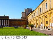 Двор Пинии, Ватикан (2008 год). Редакционное фото, фотограф ElenArt / Фотобанк Лори