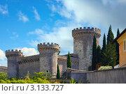 Рим, Италия. Старый замок (2008 год). Стоковое фото, фотограф ElenArt / Фотобанк Лори